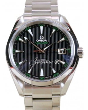 OMEGA Seamaster Aqua Terra Golf 150M Black Co-Axial Stainless Steel 231.10.42.21.01.001 BRAND NEW