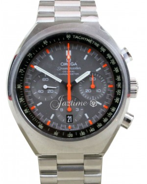 Omega 327.10.43.50.06.001 Speedmaster Mark II Co-Axial Chronograph  Grey Index Red Stainless Steel BRAND NEW