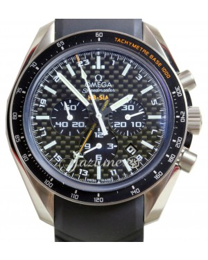 OMEGA Speedmaster HB-SIA 44mm Black Titanium GMT Co-Axial 321.92.44.52.01.001 BRAND NEW