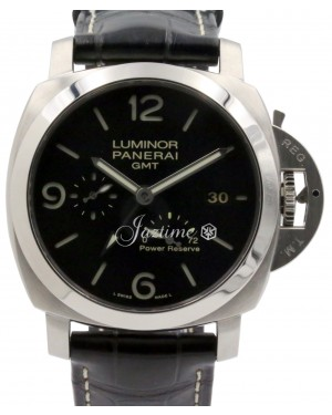 Panerai PAM 321 Luminor 1950 3-Days GMT Power Reserve Stainless Steel PRE-OWNED