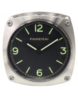 Panerai PAM 585 Wall Clock Stainless Steel Quartz BRAND NEW