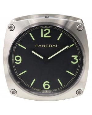 Panerai PAM 585 Wall Clock Stainless Steel Quartz BRAND NEW