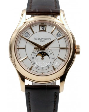 Patek Philippe Complications Day-Date Moon Phase Rose Gold 40mm White Index 5205R-001 - BRAND NEW