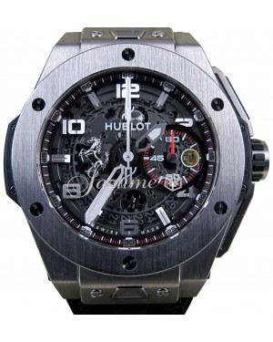 Hublot Big Bang Ferrari 401.NX.0123.GR Ceramic Carbon Fiber 45mm BRAND NEW