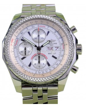 Breitling Bentley GT A13362 Stainless Steel Chronograph Automatic