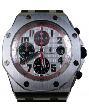 Audemars Piguet Royal Oak Offshore Panda Themes White 26170ST.OO.D101C BOX/PAPERS