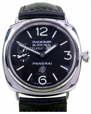 Panerai PAM 380 Radiomir Black Seal Logo Dial 45mm Stainless Steel BRAND NEW