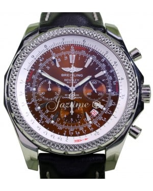Breitling Bentley Motors A25362 Copper 48mm Stainless Steel Leather