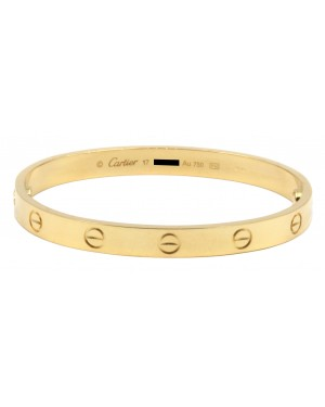 Cartier Love Bangle Bracelet B6035517 Yellow Gold BRAND NEW