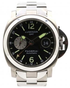 Panerai PAM 161 Luminor GMT Titanium Titanium Stainless Steel 44mm Black