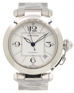 Cartier W31074M7 Pasha C De Cartier 35mm Stainless Steel BRAND NEW