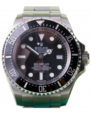 Rolex Deepsea 116660 Men's 44mm Black Ceramic Stainless Steel Oyster Sea-Dweller