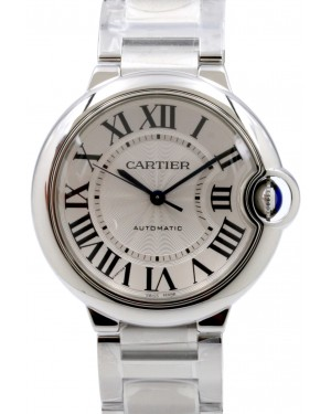Cartier Ballon Bleu W6920046 Midsize Stainless Steel Automatic 3284 BRAND NEW