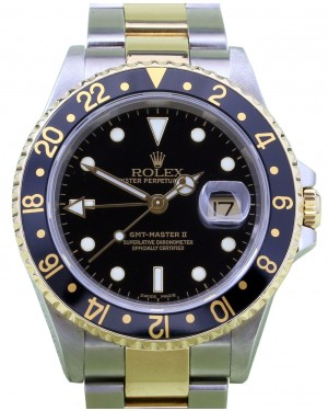 Rolex GMT-Master II 16713 40mm 18k Yellow Gold Stainless Steel