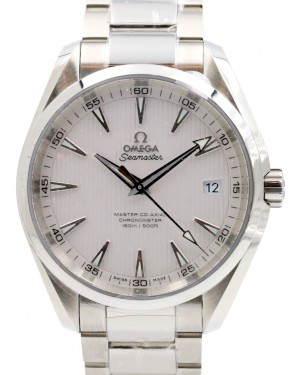 Omega Seamaster Aqua Terra 231.10.42.21.02.003 Silver Index 150 M Co-Axial Stainless Steel 41.5mm - BRAND NEW