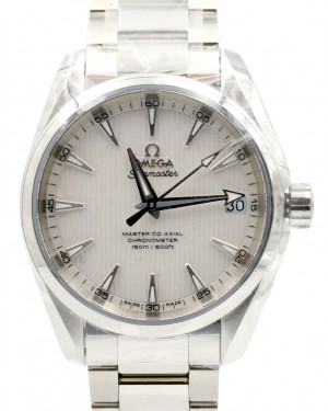 Omega Seamaster Aqua Terra 231.10.39.21.02.002 Silver Index 150 M Co-Axial Stainless Steel 38.5mm - BRAND NEW