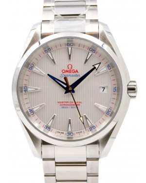 Omega Seamaster Aqua Terra Golf Edition 231.10.42.21.02.004 Silver Index 150 M Co-Axial Stainless Steel 41.5mm - BRAND NEW