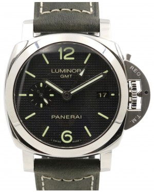 Panerai PAM 535 Luminor 1950 42mm Stainless Steel Black Leather - BRAND NEW