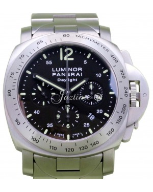 Panerai Luminor Daylight PAM 236 Chronograph Stainless Steel 44mm Automatic