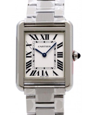 Cartier W5200013 Tank Solo Stainless Steel Small 31 mm x 24.4 mm BRAND NEW