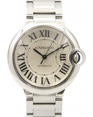 Cartier W6920046 Ballon Bleu Midsize Stainless Steel Automatic 3284 PAPERS