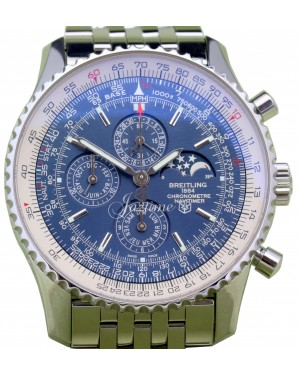 Breitling Navitimer Olympus A19370 Men's 46mm Blue Stainless Steel Chronograph Date BRAND NEW