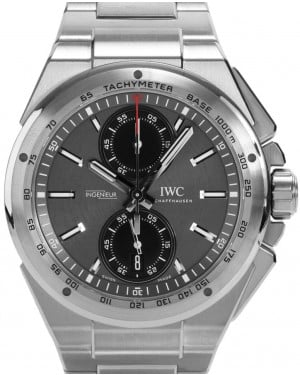 quality design 6e295 f54b5 IWC Schaffhausen IW323902 Ingenieur Automatic Black Index ...
