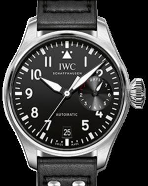 timeless design 9b9f3 8ade7 IWC Schaffhausen IW371808 Pilot's Watch Double Chronograph ...
