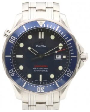 Omega Seamaster 300 M Quartz 2221.80.00 Blue Luminous Stainless Steel 41mm - PRE-OWNED