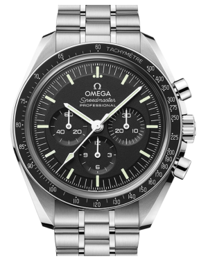 Omega Speedmaster Moonwatch Professional 42mm Black Index Dial & Bezel Stainless Steel 42mm 310.30.42.50.01.002 - BRAND NEW