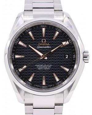 Omega Seamaster Aqua Terra 150M Co‑Axial Master Chronometer Stainless Steel Black Dial & Steel Bracelet 41mm 231.10.42.21.01.006 - PRE-OWNED