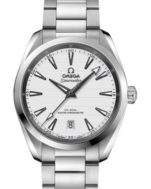 Omega Seamaster Aqua Terra 150M Co‑Axial Master Chronometer Stainless Steel Silver Dial & Steel Bracelet 38mm 220.10.38.20.02.001 - BRAND NEW