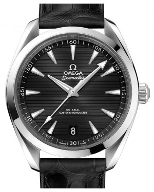 Omega Seamaster Aqua Terra 150M Stainless Steel Black Dial & Leather Strap 41mm 220.13.41.21.01.001 - BRAND NEW