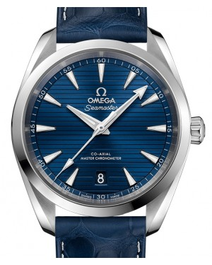 Omega Seamaster Aqua Terra 150M Stainless Steel Blue Dial & Leather Strap 38mm 220.13.38.20.03.001 - BRAND NEW