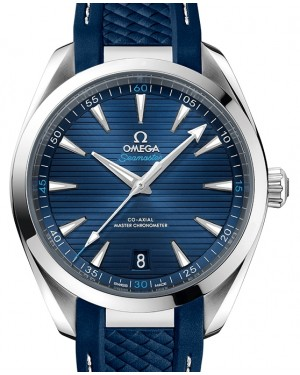 Omega Seamaster Aqua Terra 150M Stainless Steel Blue Dial & Rubber Strap 41mm 220.12.41.21.03.001 - BRAND NEW