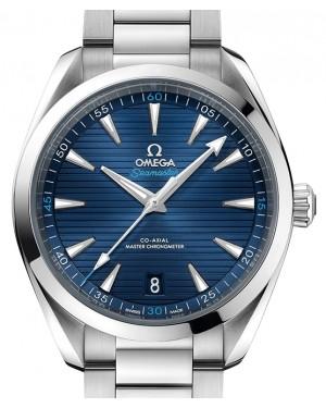 Omega Seamaster Aqua Terra 150M Stainless Steel Blue Dial & Steel Bracelet 41mm 220.10.41.21.03.001 - BRAND NEW