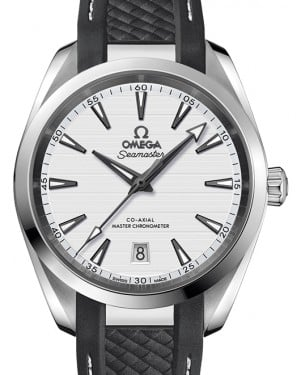 Omega Seamaster Aqua Terra 150M Stainless Steel Silver Dial & Rubber Strap 38mm 220.12.38.20.02.001 - BRAND NEW
