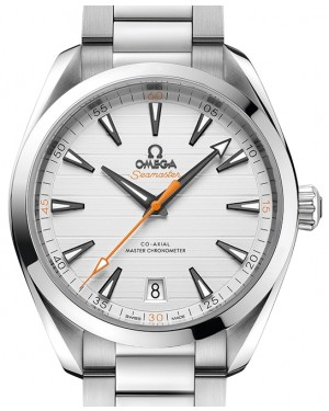 Omega Seamaster Aqua Terra 150M Stainless Steel Silver Dial & Steel Bracelet 41mm 220.10.41.21.02.001 - BRAND NEW