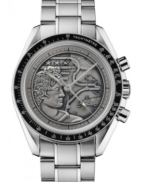Omega Speedmaster Moonwatch Anniversary Limited Series Stainless Steel Silver Dial & Aluminium Bezel Steel Bracelet 42mm 311.30.42.30.99.002 - BRAND NEW