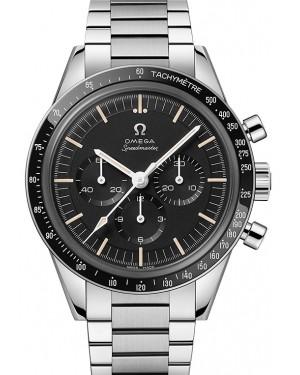 Omega Speedmaster Moonwatch Chronograph Stainless Steel Black Dial & Ceramic Bezel Steel Bracelet 39.7mm 311.30.40.30.01.001 - BRAND NEW