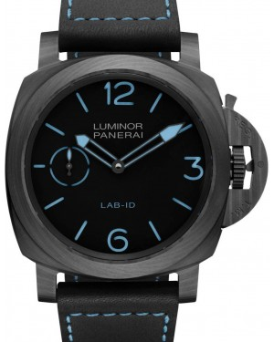 Panerai PAM 700 Panerai Lab-Id™ - Luminor 1950 Carbotech™ 3 Days Black / Blue Arabic / Index Carbotech 49mm - BRAND NEW