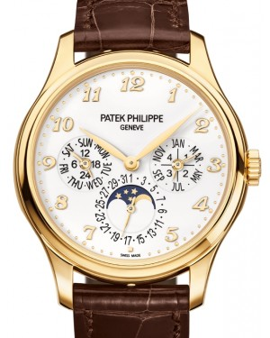 Patek Philippe 5327J-001 Grand Complications 39mm Ivory Arabic Yellow Gold Leather - Brand New