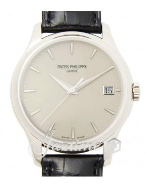 Patek Philippe Calatrava Automatic White Gold 39mm Ivory Index Date Leather 5227G-001 - BRAND NEW