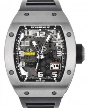 Richard Mille Chronograph V2 Split Seconds Titanium Skeleton Dial Rubber 48mm RM004
