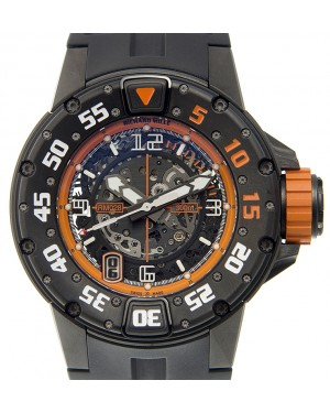 Richard Mille RM028-AJTI Titanium Transparent Skull Orange Automatic 47mm BRAND NEW