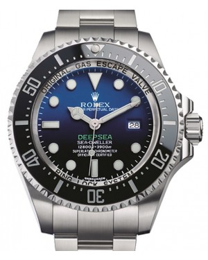 Rolex Deepsea 116660 D-Blue Ceramic Cameron Limited 44mm Stainless Steel - BRAND NEW