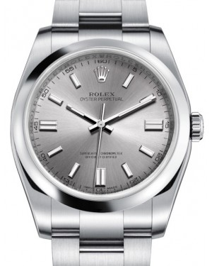 Rolex Oyster Perpetual 36 Stainless Steel Silver Index Dial & Domed Bezel Oyster Bracelet 116000 - BRAND NEW