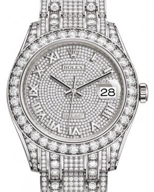 Best Price on all ROLEX PEARLMASTER Watches Guaranteed at
