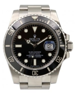 Rolex Submariner Date Stainless Steel Black Dial & Ceramic Bezel Oyster Bracelet 116610LN - PRE-OWNED