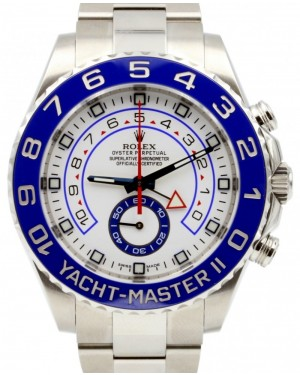 Rolex Yacht-Master II 116680 44mm Blue Ceramic Stainless Steel BRAND NEW